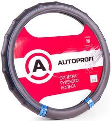Оплетка на руль AUTOPROFI AP-1410 черный