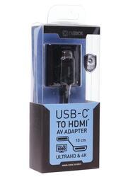 Адаптер NEXX  USB-C - HDMI черный