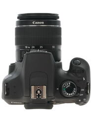 Зеркальная камера Canon EOS 1200D Kit 18-55mm DC + 75-300 DC черный