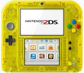 Портативная игровая консоль Nintendo 2DS  + Pokémon Yellow Version