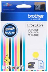 Картридж струйный Brother LC-525XLY