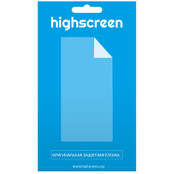 """4""""  Пленка защитная для смартфона Highscreen Pure F"""