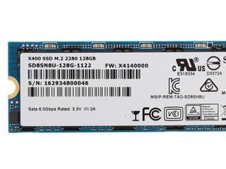 128 ГБ SSD M.2 накопитель Sandisk X400 [SD8SN8U-128G-1122]