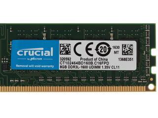 Оперативная память Crucial [CT102464BD160B] 8 ГБ