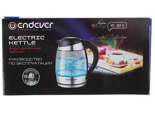 Электрочайник Endever KR-323G черный