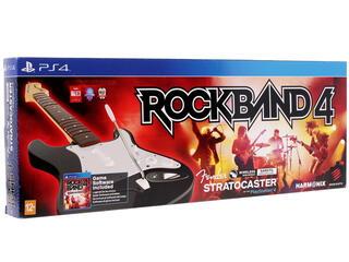 """Игровой комплект Mad Catz Fender™ Stratocaster™ + Игра для PS4 """"Rock Band 4"""""""