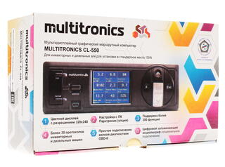 Маршрутный компьютер Multitronics CL-550