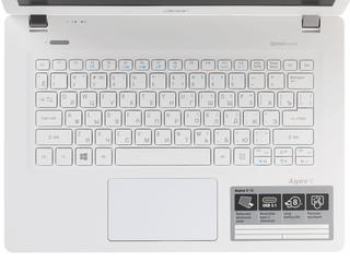 """13.3"""" Ноутбук Acer Aspire V 13 V3-372-70V9 белый"""