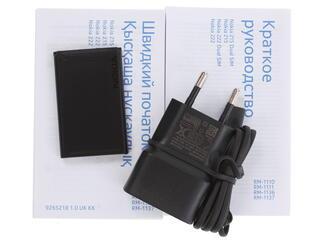 Сотовый телефон Nokia 222 Rome черный