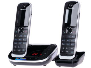 Телефон беспроводной (DECT) Panasonic KX-TGJ322RUB