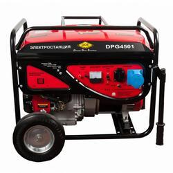 Бензиновый электрогенератор DDE DPG4501