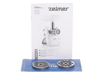 Мясорубка Zelmer ZMM1289IRU белый