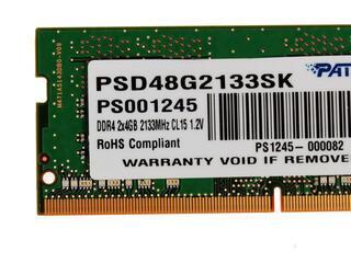 Оперативная память SODIMM Patriot Signature [PSD48G2133SK] 8 ГБ