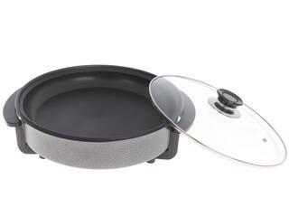 Электросковорода Аксион Д-11 черный, серый