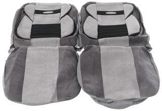 Чехлы на сиденье AUTOPROFI COMFORT COMBO CMB-1105 серый
