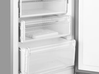 Холодильник с морозильником Bosch KGN36VL15 серебристый