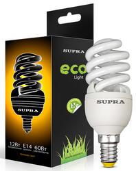 Лампа люминесцентная Supra SL-FSP-12/2700/Е14