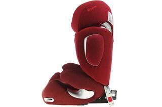 Детское автокресло Cybex Solution Q2-Fix Plus красный