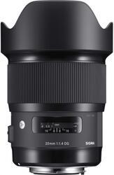 Объектив Sigma AF 20mm F1.4 DG HSM Art