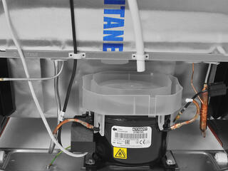 Холодильник с морозильником ATLANT ХМ 4012-030 красный