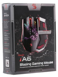 Мышь проводная A4Tech Bloody A6/A60 Blazing