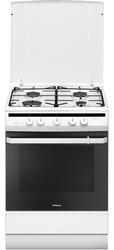 Газовая плита Hansa FCGW61000 белый, черный