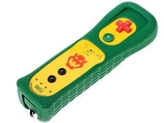 Игровой контроллер Wii U Remote Plus Bowser Edition зеленый
