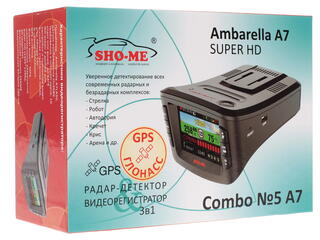 Видеорегистратор SHO-ME Combo№5 A7