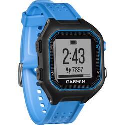 Часы-пульсометр Garmin Forerunner 25, Large - Black/Blue HRM1 черный