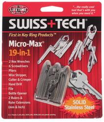 Мультитул Swiss+Tech Micro-Max