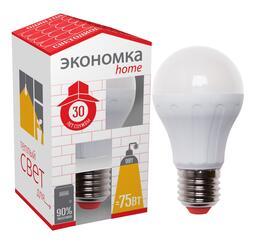 Лампа светодиодная Экономка LED 9W A55 E2730