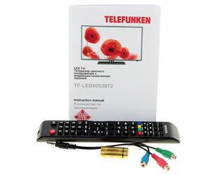 "50"" (127 см)  LED-телевизор Telefunken TF-LED50S28T2 серебристый"