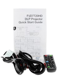 Проектор ViewSonic LightStream PJD7720HD черный