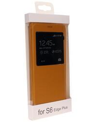 Чехол-книжка  Remax для смартфона Samsung Galaxy S6 Edge Plus