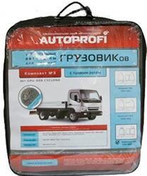Чехлы на сиденье Autoprofi GRU-003 черный