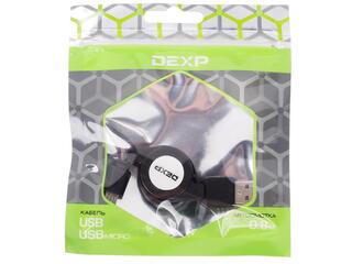 Кабель DEXP UMBAR080 USB - micro USB черный