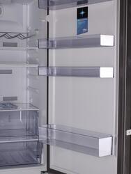 Холодильник с морозильником BEKO RCNK355E21X серебристый