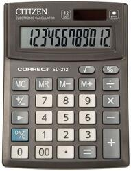 Калькулятор Citizen Correct SD-212