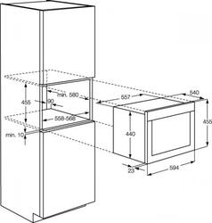 Электрический духовой шкаф Zanussi ZOK37901XB