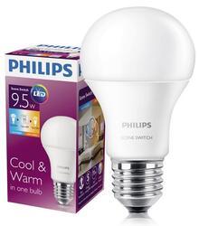 Лампа светодиодная Philips Scene Switch A60 9.5-60W E27 3000K/6500К