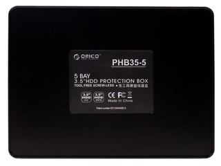 """Бокс для внутреннего жесткого диска 5x3.5"""" ORICO PHB35-5-BK черный"""