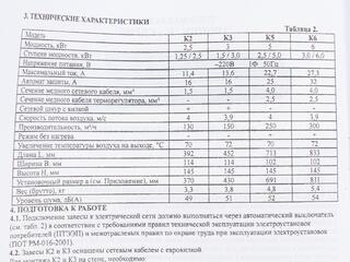 Тепловая завеса Tropik Line К3