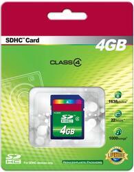 Карта памяти Secure Digital Memory Card SDHC 4 Гб