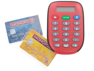 Игра настольная Монополия: С банковскими картами