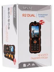 Сотовый телефон Ginzzu R2D черный