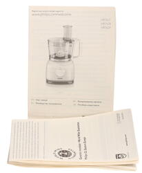 Кухонный комбайн Philips HR-7629/90 черный