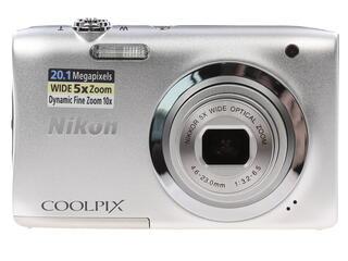 Компактная камера Nikon Coolpix A100 серебристый