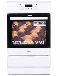 Электрическая плита Hansa FCIW58207 белый, черный