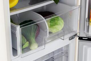 Холодильник с морозильником LG GA-B409SEQL бежевый