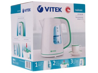 Электрочайник Vitek VT-7022 белый